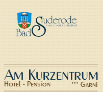 Logo: Hotel - Pension *** garni - Am Kurzentrum